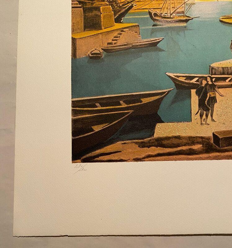 Salvador Dalí, 'La Main de Dali retirant la toison dòr', 1988, Print, Color lithograph on wove paper, Samhart Gallery