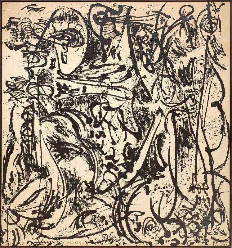 Jackson Pollock, 'Echo: Number 25, 1951', 1951, Painting, Enamel on canvas, Dallas Museum of Art