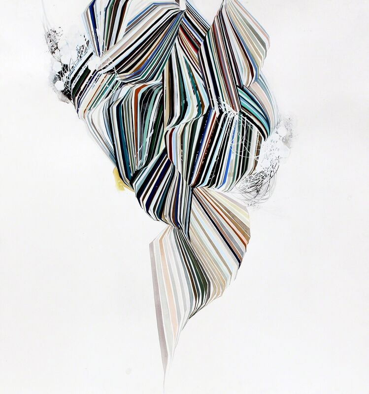 Reed Danziger, 'to a degree of which', 2014, Drawing, Collage or other Work on Paper, Graphite, ink, watercolor and gouache on paper, Hosfelt Gallery