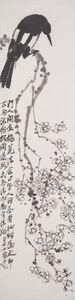 Qi Baishi, 'Plum Blossoms and Bird', ca. 1930