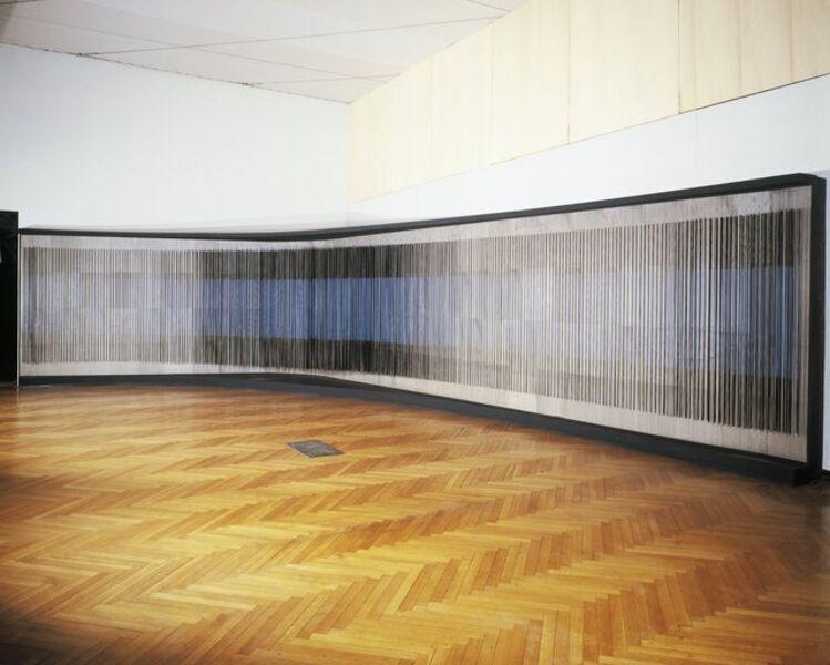 Jesús Rafael Soto, 'Great Panoramic Vibrant Wall'