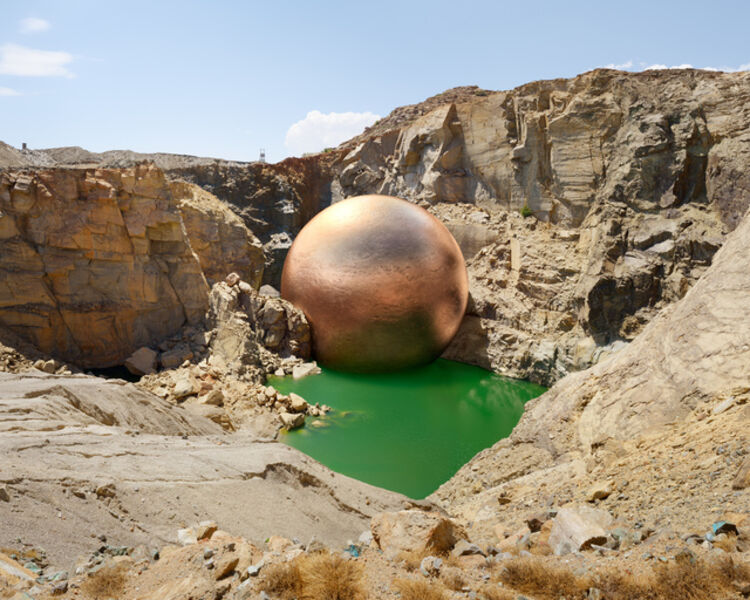 Dillon Marsh, 'Nabebeep South Mine, Nabebeep (1882 - 2000), 302,791.65 tonnes of copper extracted', 2014