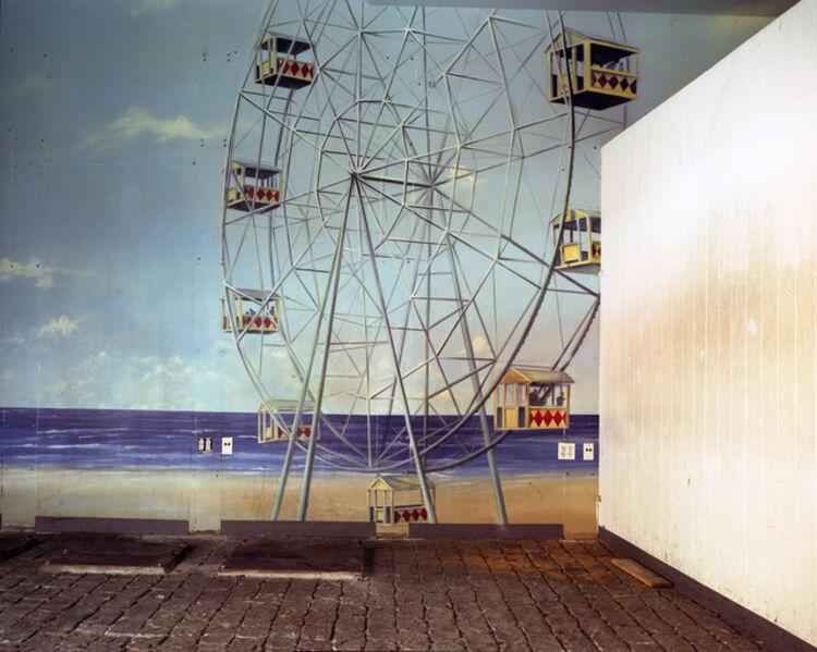 Lisa Kereszi, 'Ferris Wheel Mural, Broadway Arcade, Times Square, NYC', 2004