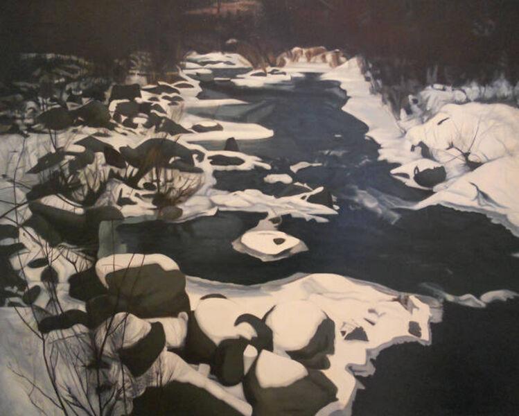 Ralph Wickiser, 'Winter Stream', 1975
