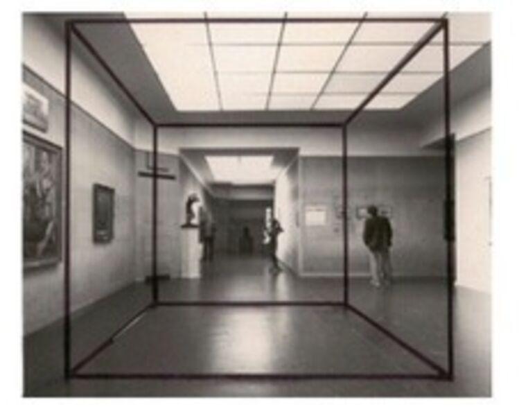 J. Pablo Renzi, 'Prisma de aire (Materialización de las coordenadas espaciales de un prisma de aire)', 1967