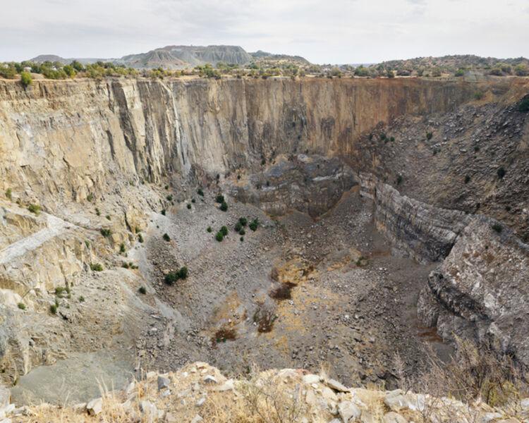 Dillon Marsh, 'Jagersfontein Mine (1871 - 1969), 9.52 million carats of diamonds extracted', 2014