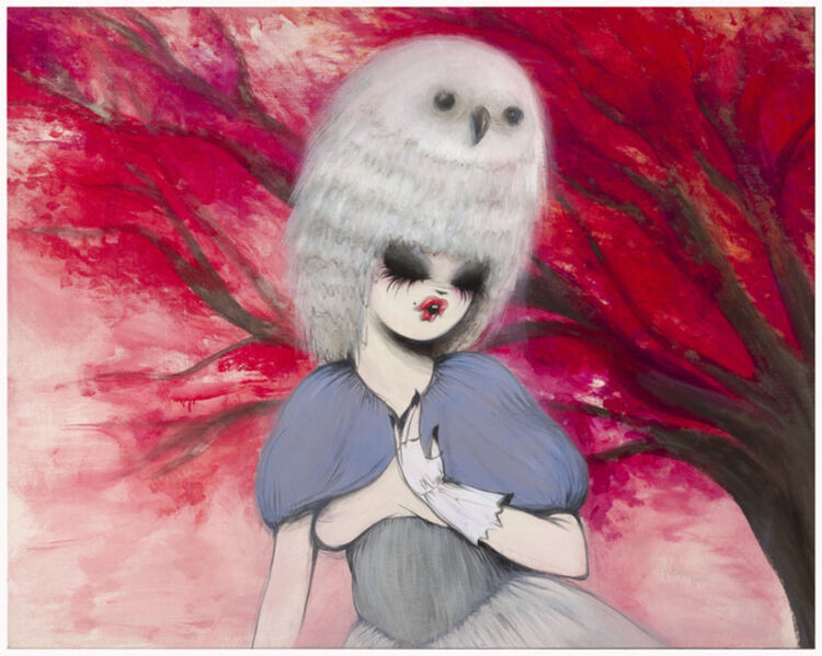 Miss Van, 'Untitled ( girl with owl hat )', 2007