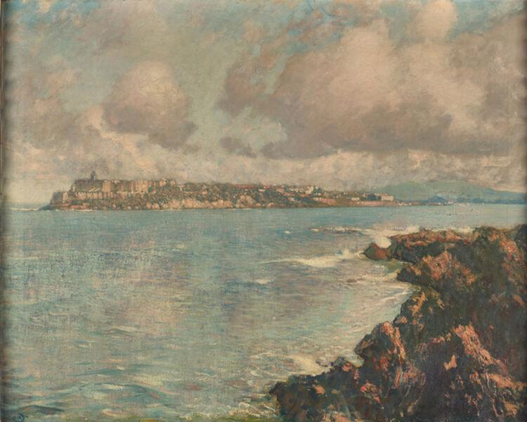 Hermann Dudley Murphy, 'Moro Castle, San Juan', ca. 1913