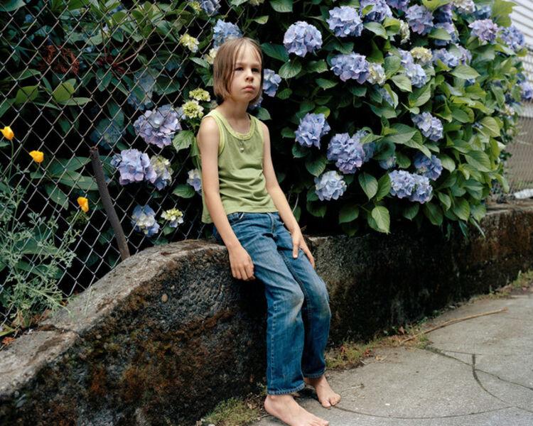 Justine Kurland, 'Hydrangea', 2012