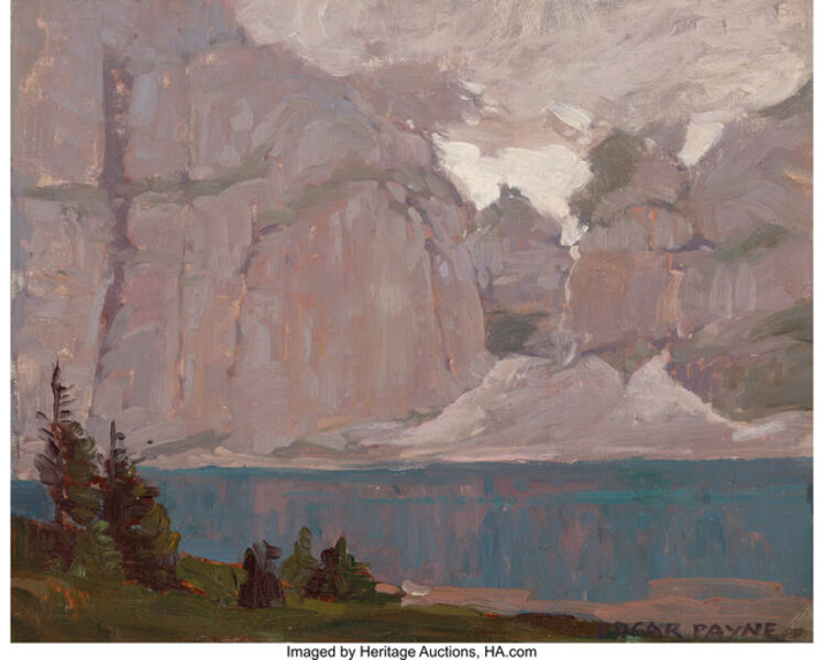 Edgar Alwin Payne, 'Clouds Over Sierra Lake'