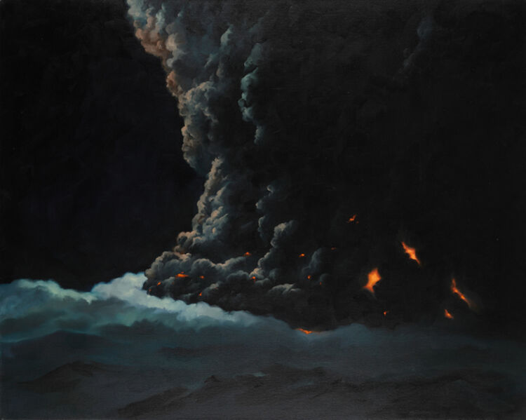 Vahap Avşar, 'ICELAND (EXPLOSION PAINTINGS SERIES)', 2011