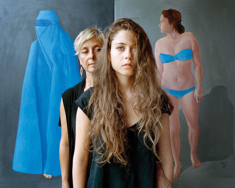 Rania Matar, 'Leila and Souraya, Jounieh Lebanon', 2015