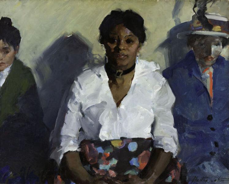 Martha Walter, 'Employment Station', ca. 1920