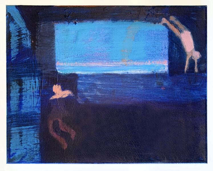 Katherine Bradford, 'Pool Party', 2019