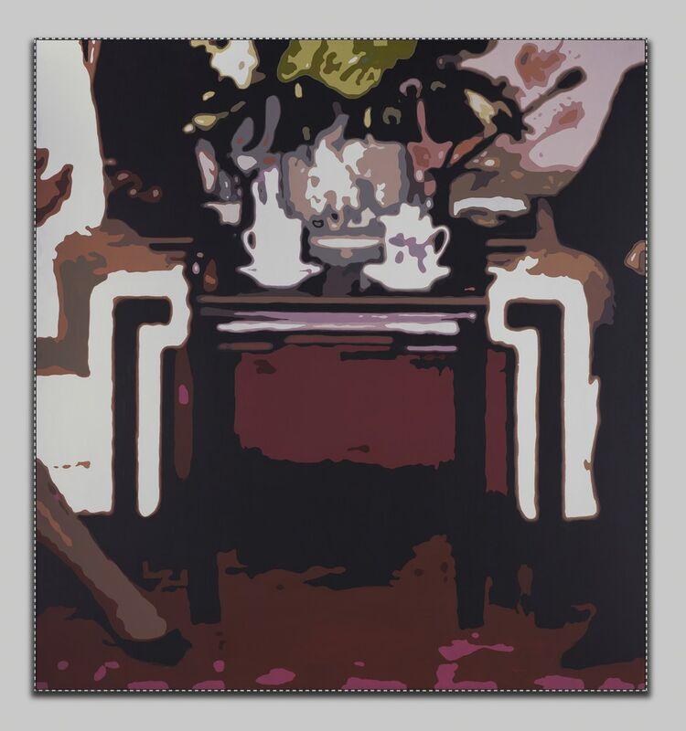 Yang Zhenzhong, 'Surveillance and Panorama No.4', 2018, Painting, Oil on canvas, Tang Contemporary Art