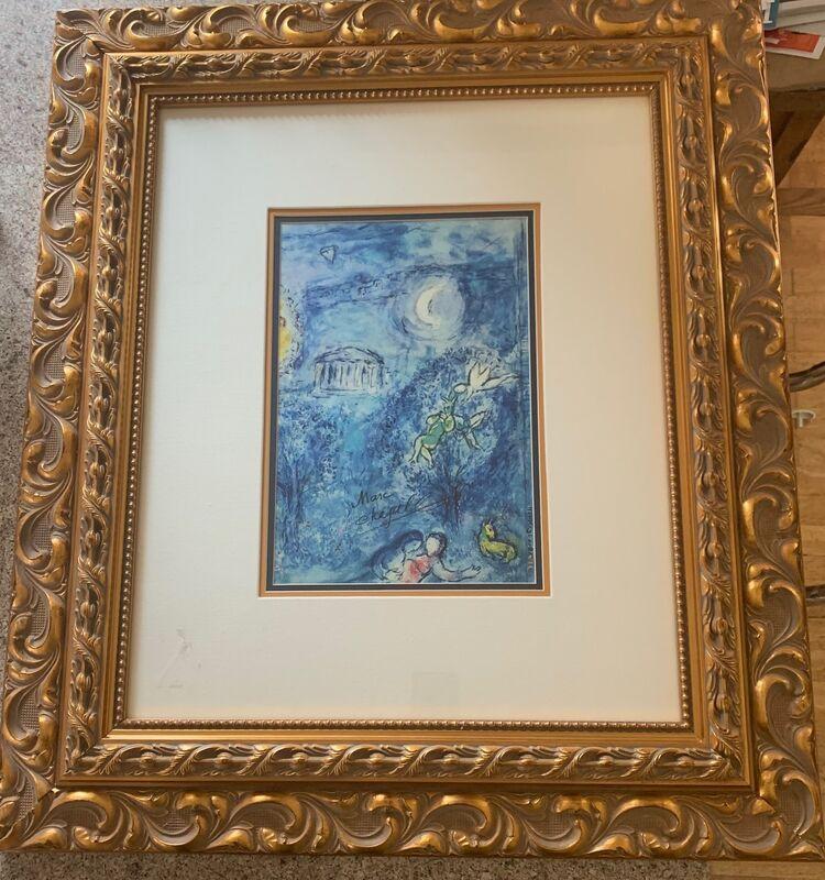 Marc Chagall, 'Homage 'a Ravel', 1969, Print, Lithograph, Leviton Fine Art