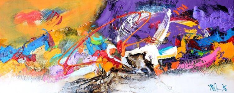 William Malucu, 'Purple Breeze', 2014