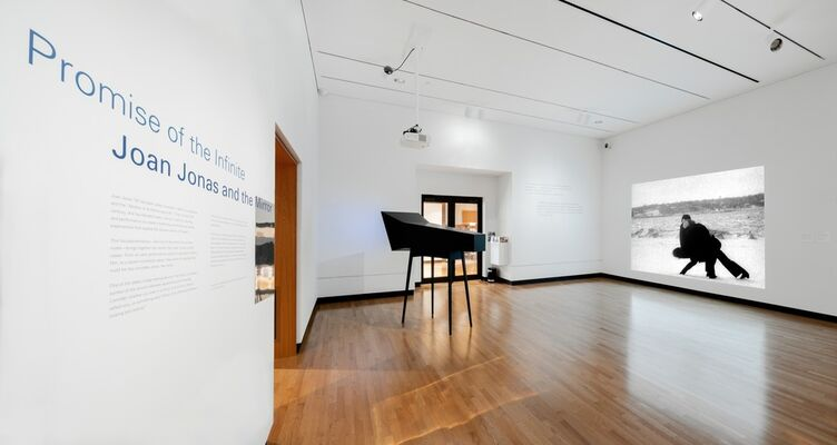 Promise of the Infinite: Joan Jonas and the Mirror, installation view