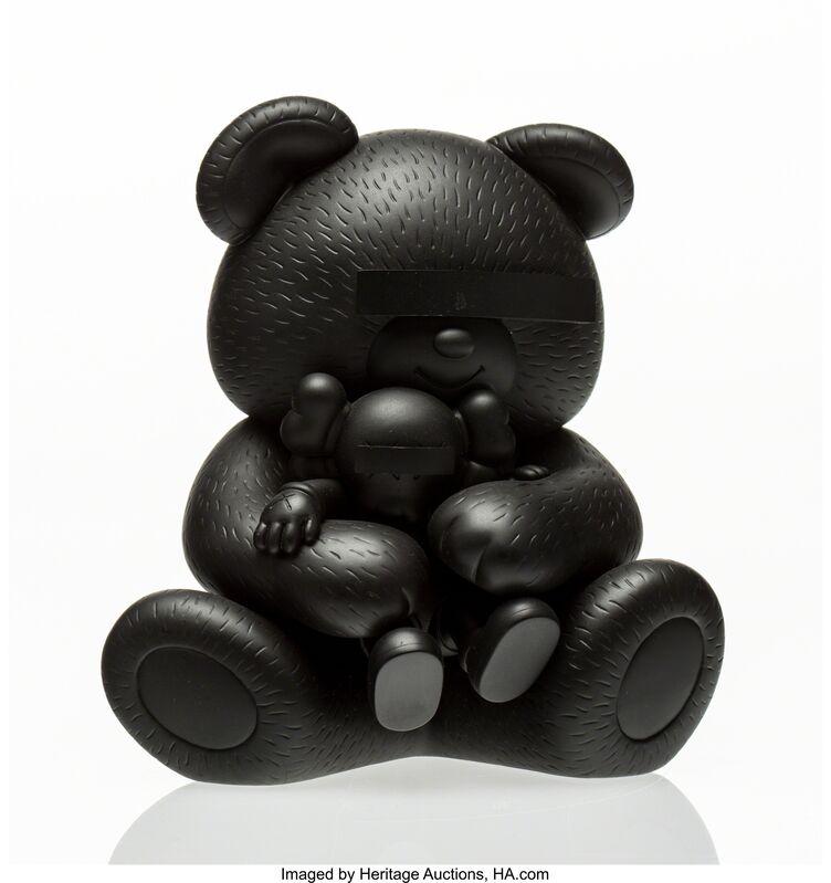 KAWS, 'Bear Companion (Black)', 2009, Other, Cast vinyl, Heritage Auctions