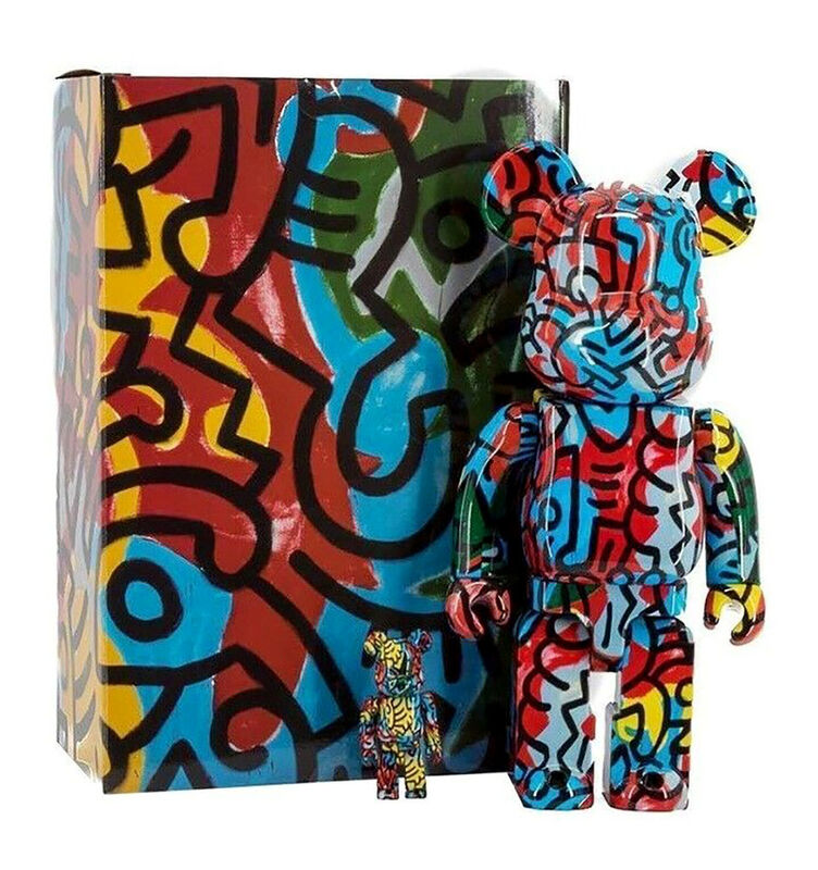 Keith Haring, 'Keith Haring Bearbrick 400% Companion (Haring DesignerCon BE@RBRICK)', 2018, Ephemera or Merchandise, Cast Resin Figurine, Lot 180