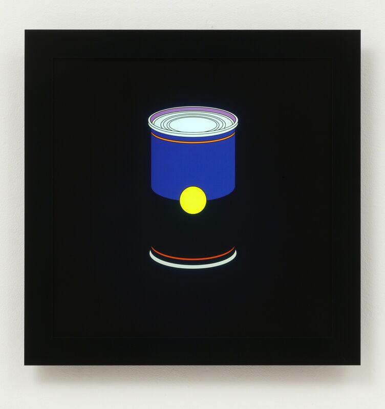 Michael Craig-Martin, 'Soup can', 2013, Print, LED lightbox with image digitally printed onacrylic, Cristea Roberts Gallery