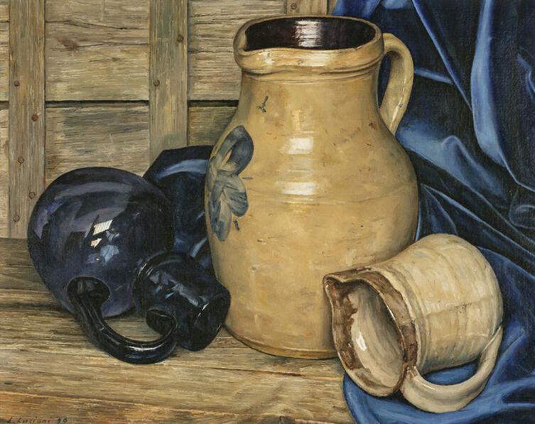 Luigi Lucioni, 'Deceptive Cadence', 1980
