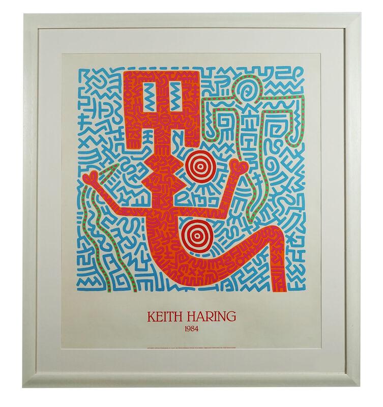 Keith Haring, 'Rare edition de Nouvelles images du vivant de Keith Haring', 1984, Posters, Vintage poster, Hidden