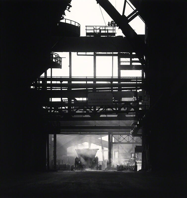 Michael Kenna, ' The Rouge, Study 135, Dearborn, Michigan, USA', 1995, Photography, Toned gelatin silver print, G. Gibson Gallery