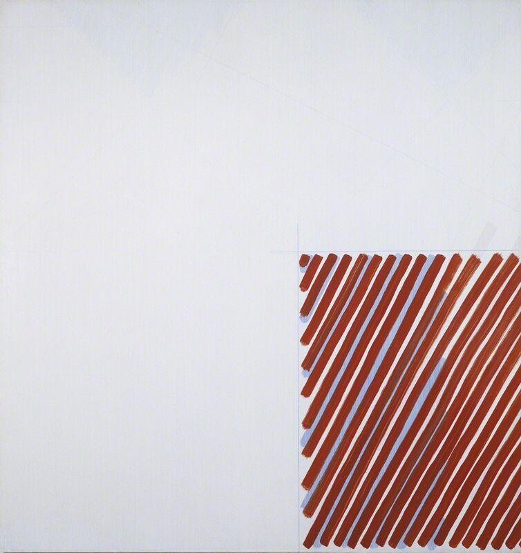 Martin Barré, '76-77-C, 1976-77', 1976-1977, Painting, Acrylic on panel, Galerie Nathalie Obadia