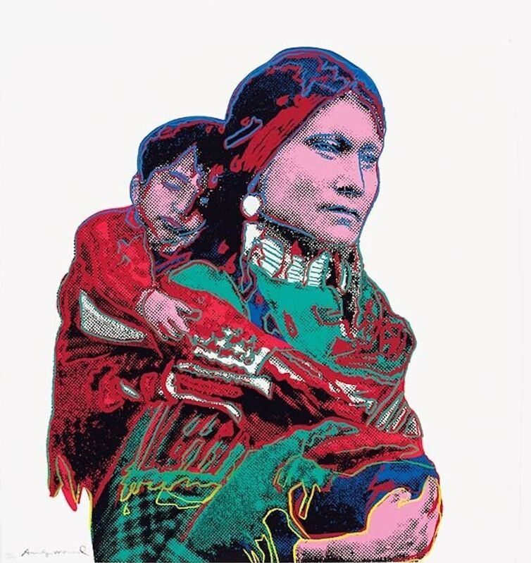 Andy Warhol, 'Mother and Child (FS II.383) ', 1986, Print, Screenprint on Lenox Museum Board, Revolver Gallery