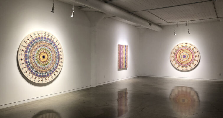 The Life and Times of Plaid, installation view