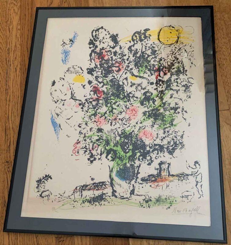 """Marc Chagall, '""""Le Bouquet Clair"""" (The Light Bouquet)', 1970, Print, Lithograph, Leviton Fine Art"""
