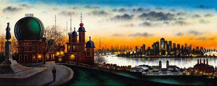 John Duffin, 'London Vista - Greenwich Observatory', 2018