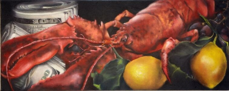 Melanie Baker, 'Lobster Roll', 2012