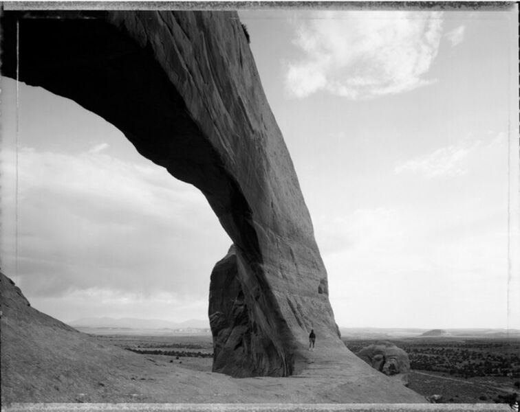 Mark Klett, 'Beneath the Great Arch. 6/21/82', 1982