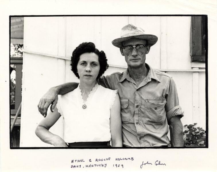 John Cohen, 'Ethel and Roscoe Holcomb, Daisy, Kentucky', 1959