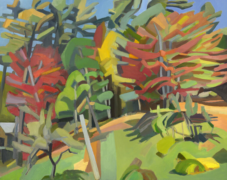 Martha Armstrong, 'Two Red Maples', 2017-2018