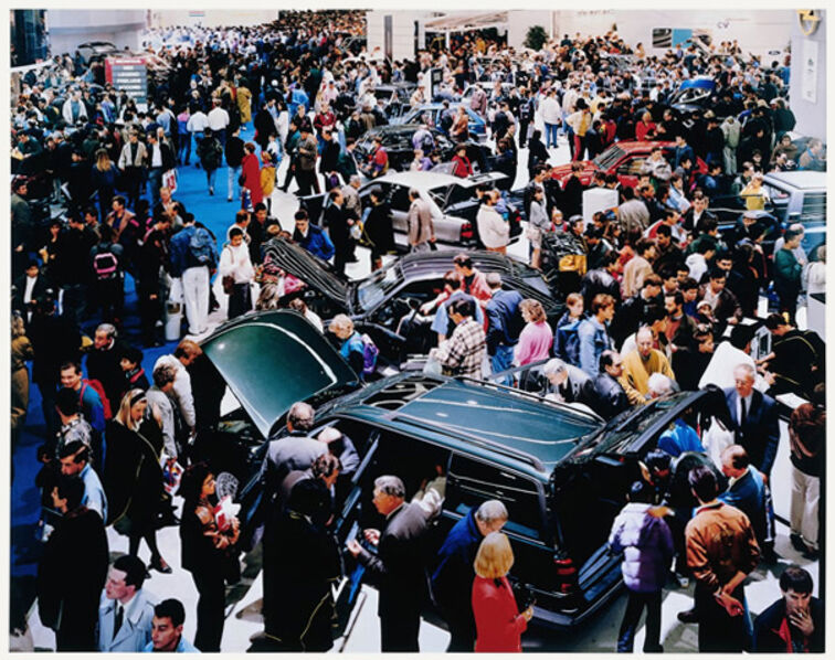 Andreas Gursky, 'Autosalon, Paris', 1993
