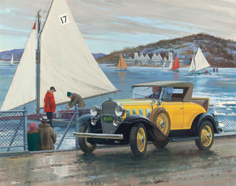Harry Anderson, 'A Good Freeze, 1932 Chevrolet Series BA', 1932