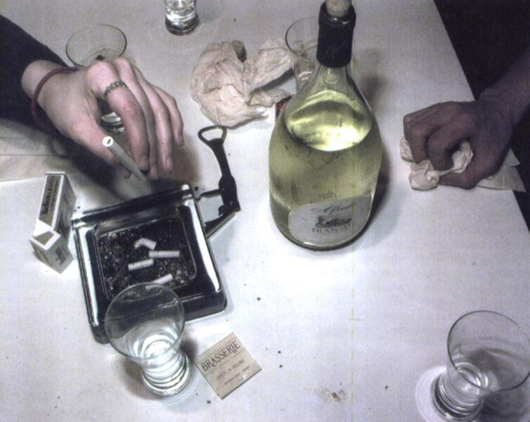 Lucien Samaha, 'After Dinner, Crosman Terrace, Rochester, NY,', 1991