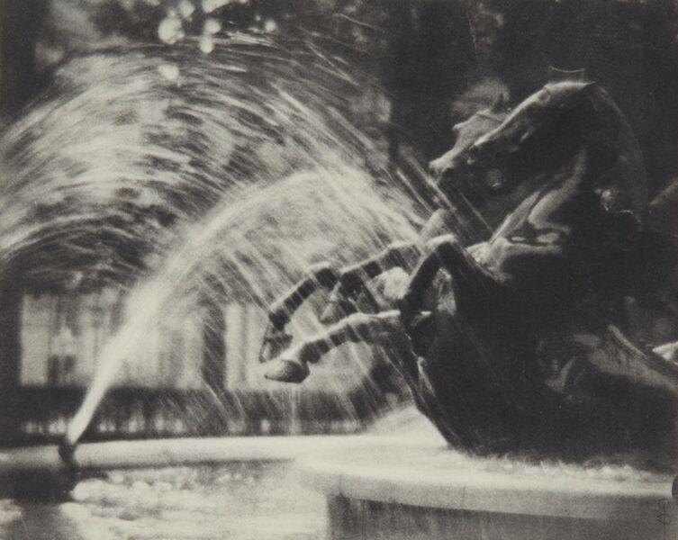 Pierre Dubreuil, ''Au Luxembourg' (La Fontaine de Carpeaux au Luxembourg)', 1912