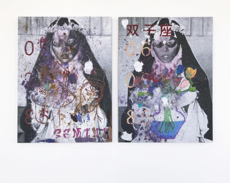 Parker Ito, 'Gemini Painting', 2017