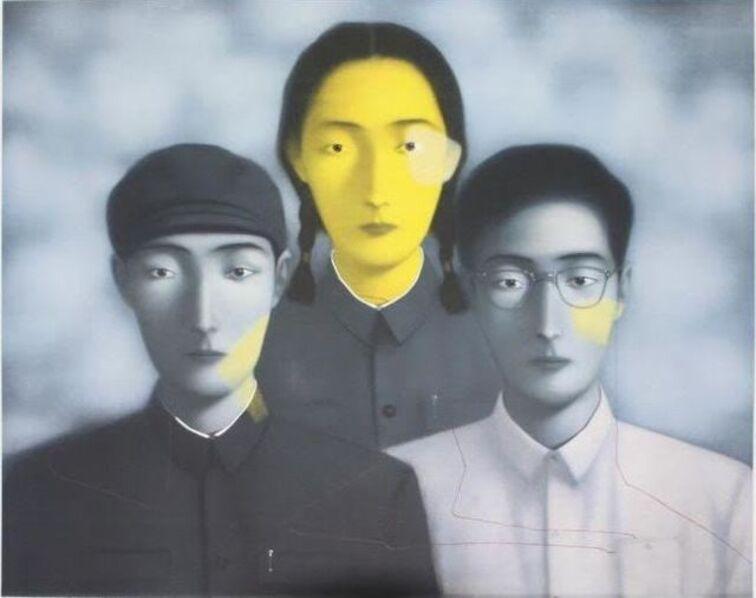 Zhang Xiaogang, 'I remember', 2009
