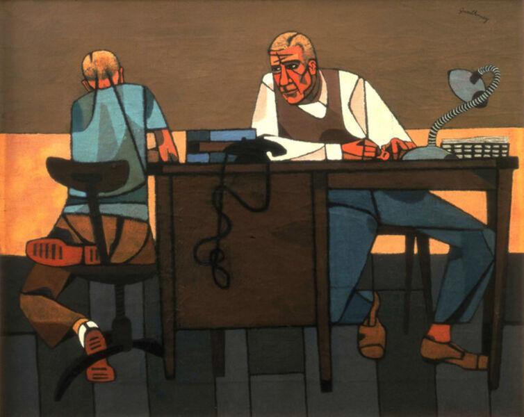 Robert Gwathmey, 'Like Son', 1948