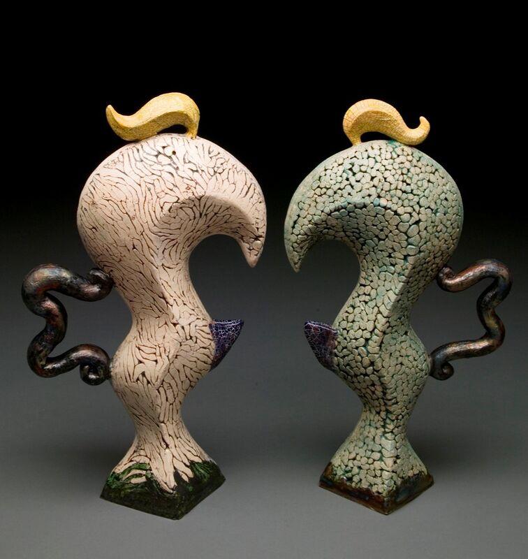 Sooyeon Kim, 'Conversation VI', 2018, Sculpture, Handbuilt white stoneware, Maria Elena Kravetz