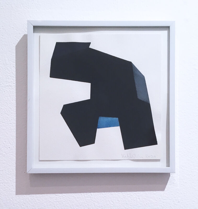 Kati Vilim, 'Almost Objectified III', 2020, Drawing, Collage or other Work on Paper, Watercolor on paper, Deep Space Gallery