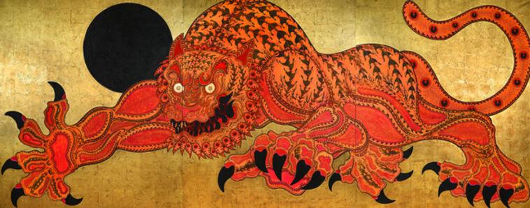 Kaneko Tomiyuki, 'Giant Tiger: Pacifier of Fire and Wind', 2019