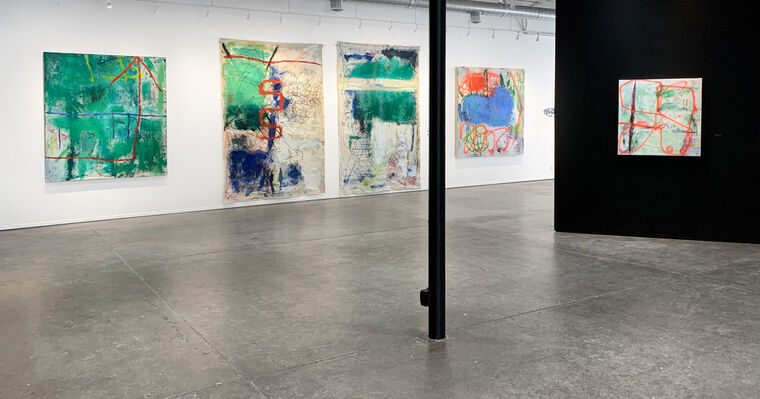 Margaret Fitzgerald: Dialectic, installation view