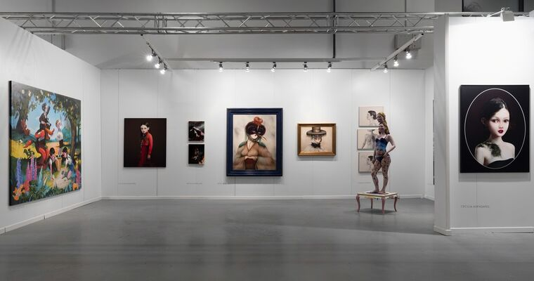 Isabel Croxatto Galeria at Contemporary Istanbul 2016, installation view
