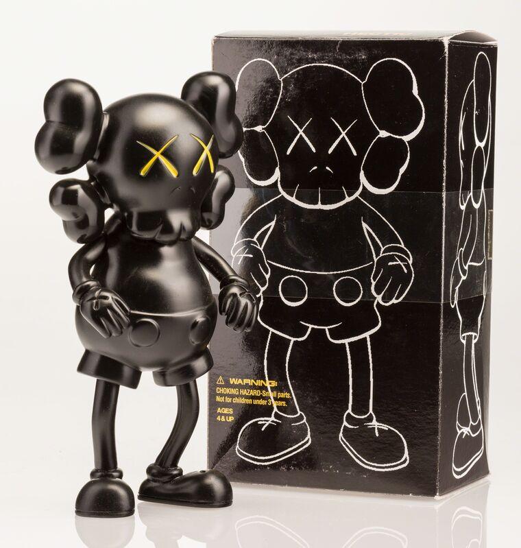KAWS, 'Companion (Black)', 1999, Other, Painted cast vinyl, Heritage Auctions